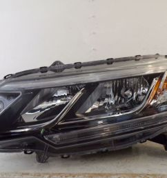 2015 2016 honda crv cr v driver lh halogen headlight w led drl oem 330 169 75 [ 1600 x 1200 Pixel ]