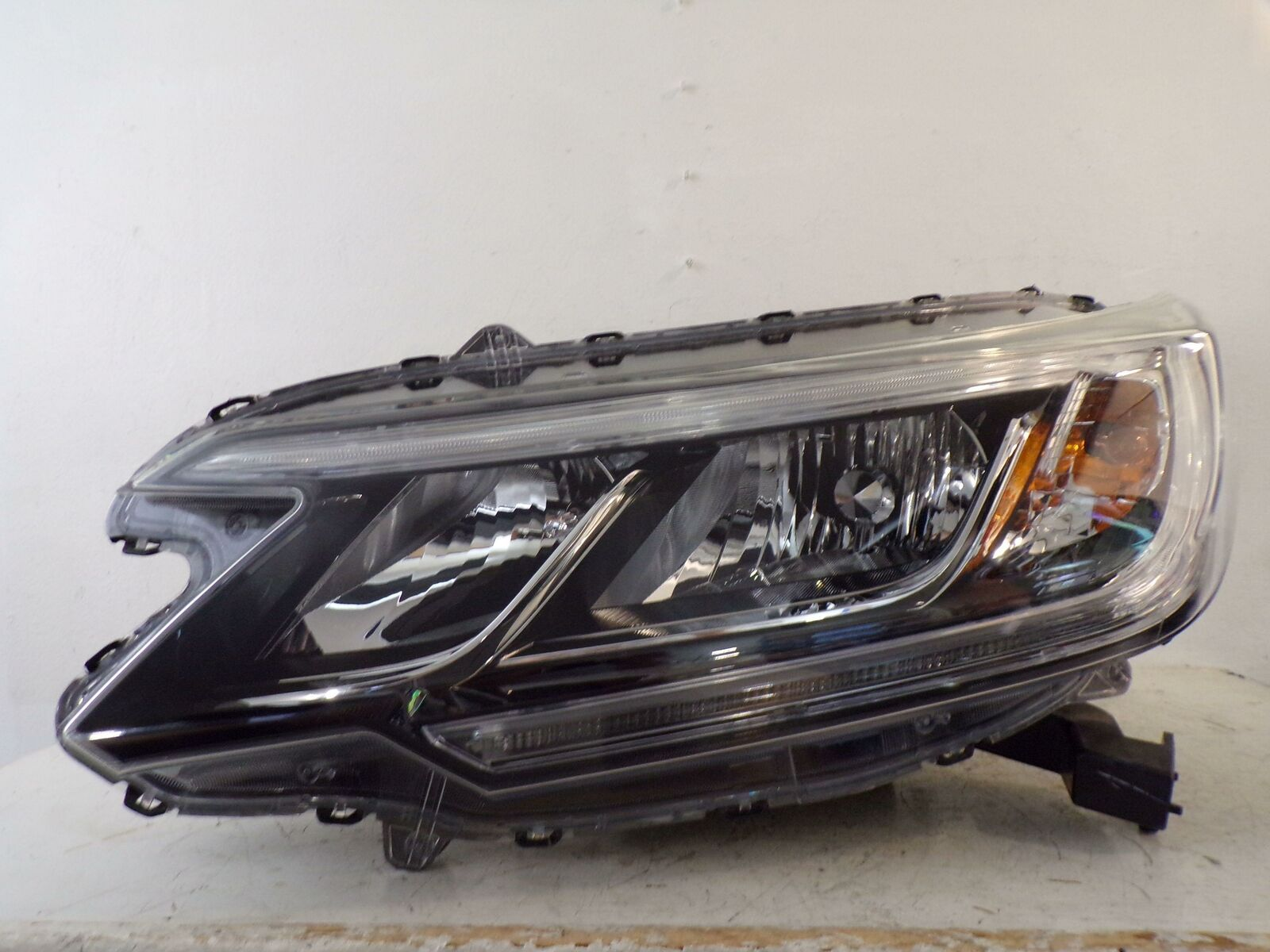 hight resolution of 2015 2016 honda crv cr v driver lh halogen headlight w led drl oem 330 169 75