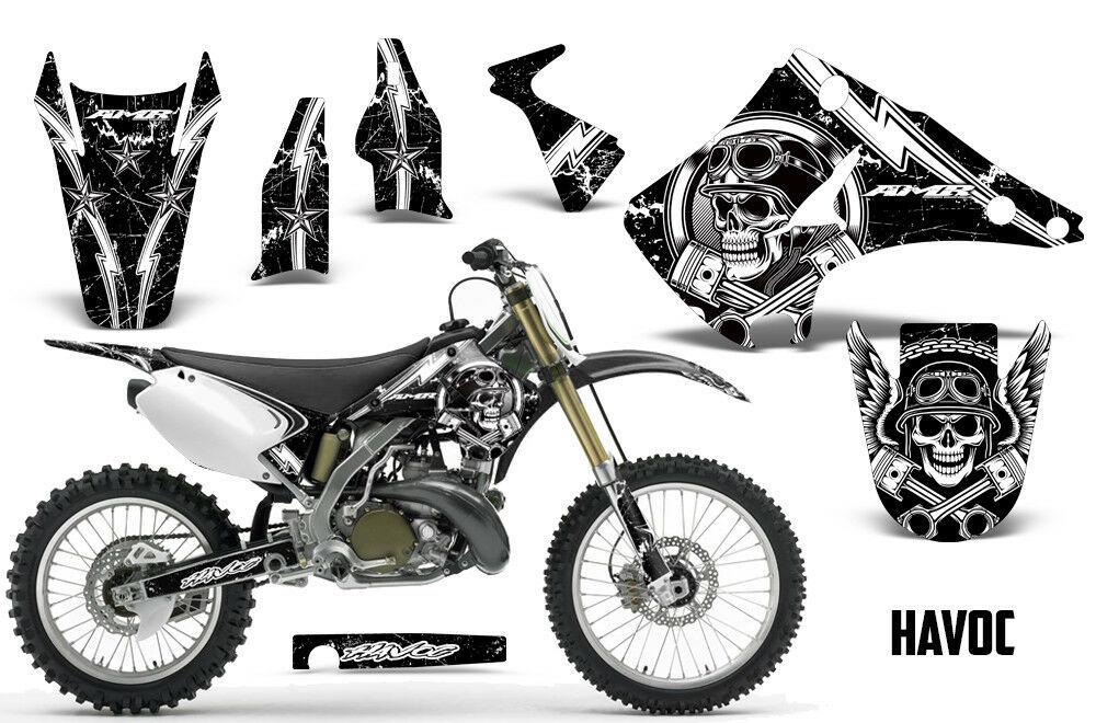 Dirt Bike Graphic Kit Decal Sticker Wrap For Kawasaki