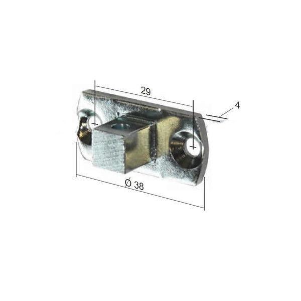 Somfy 10mm Square Motor Bracket for 400 Series Motors