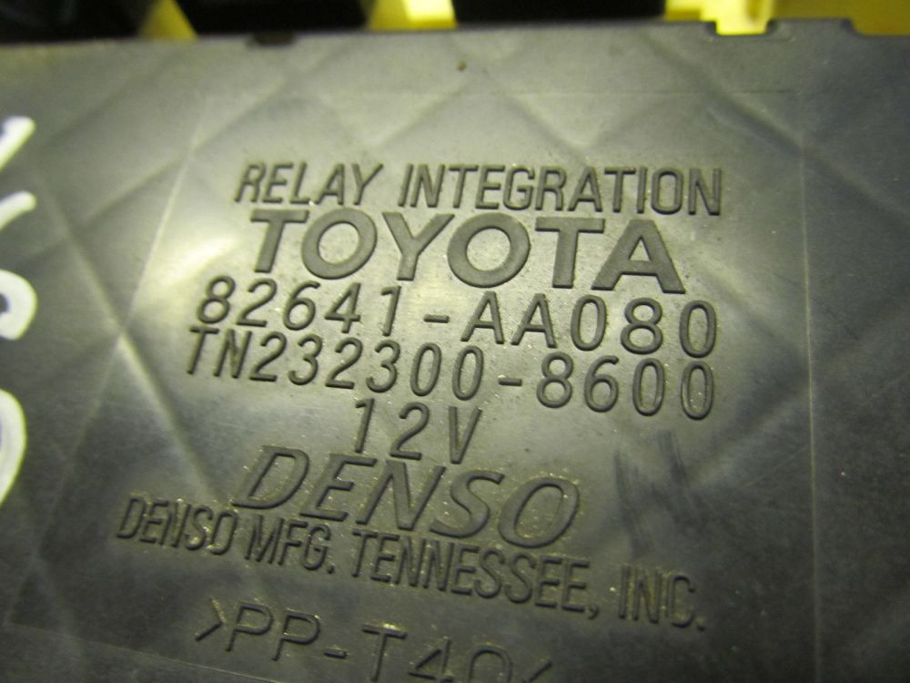 medium resolution of 01 03 02 toyota solara oem interior fuse box and 22 similar items fuse box vs
