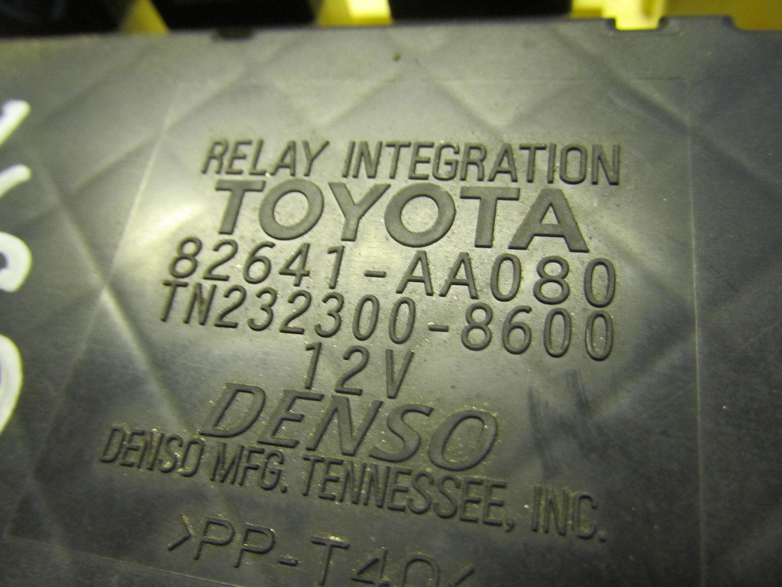 hight resolution of 01 03 02 toyota solara oem interior fuse box and 22 similar items fuse box vs