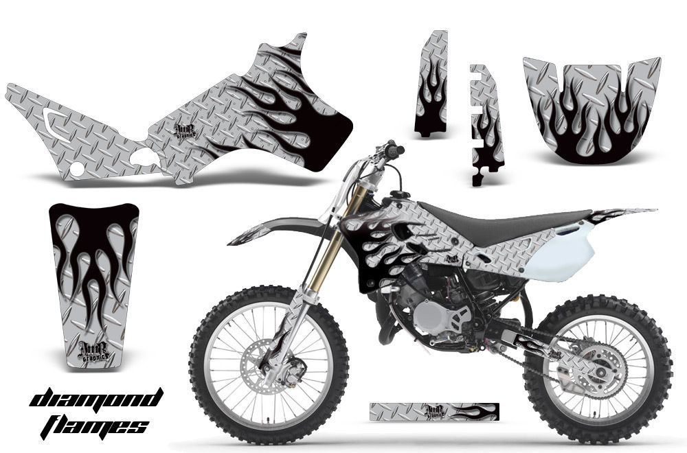 Dirt Bike Graphics Kit Decal Sticker Wrap For Yamaha YZ80