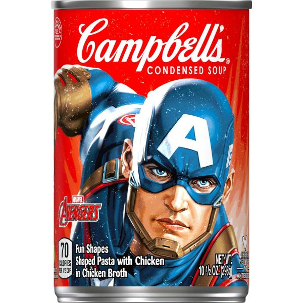 Campbell39s Condensed Marvels Avengers Soup 105 oz Can