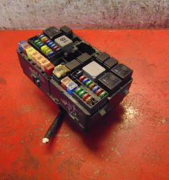 02 jaguar x type oem 3 0 v6 engine compartment bay fuse relay box panel [ 1599 x 1200 Pixel ]