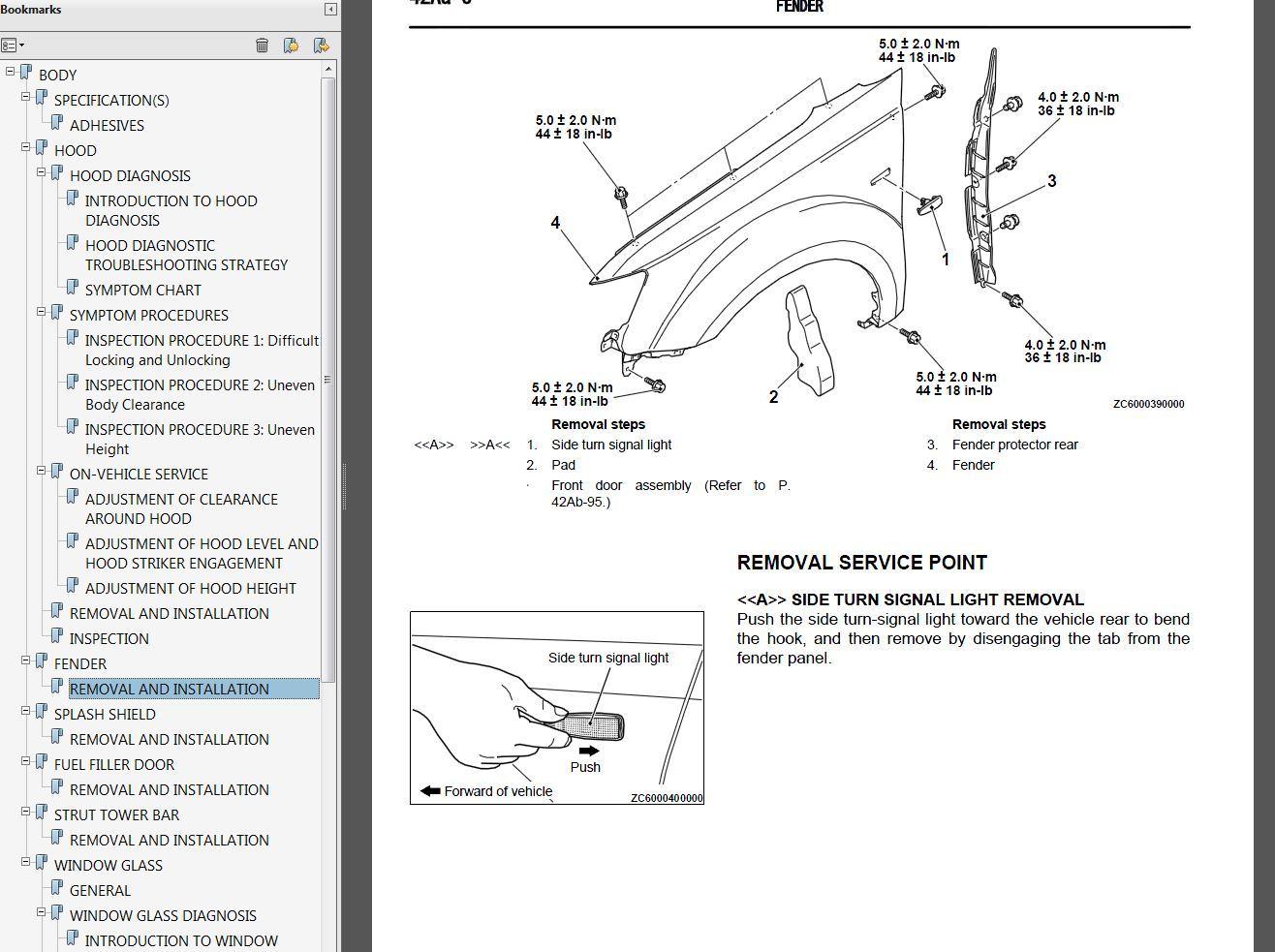 2007 Mitsubishi Outlander Factory Repair Service Manual
