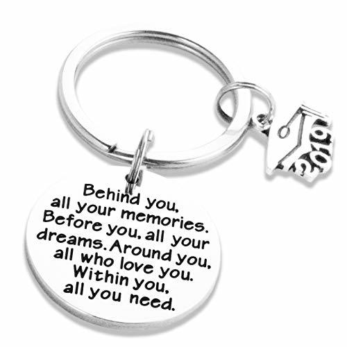 College Grad Gifts for Women Her Grad Keychain 2019