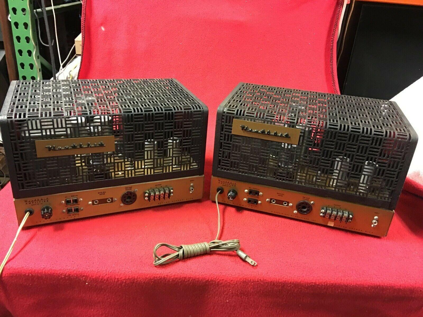 Used Heathkit W5m Monoblock Power Amplifiers For Sale