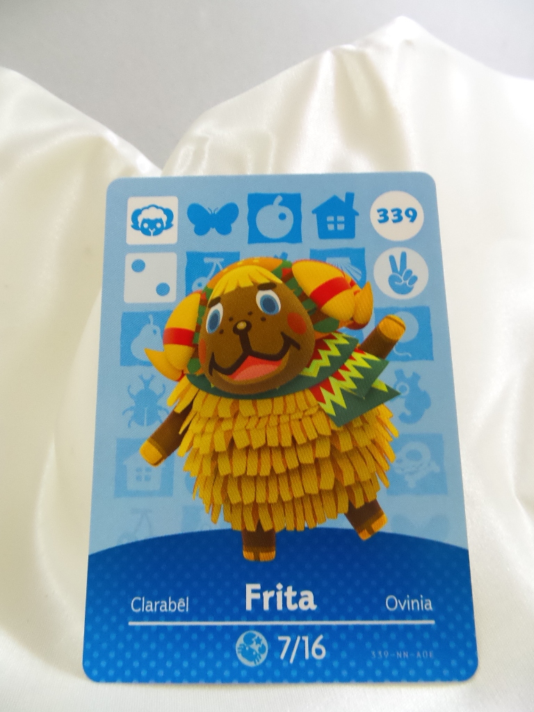They play great with the game (animal crossing: 339 - Frita - Series 4 Animal Crossing Villager Amiibo Card - Other