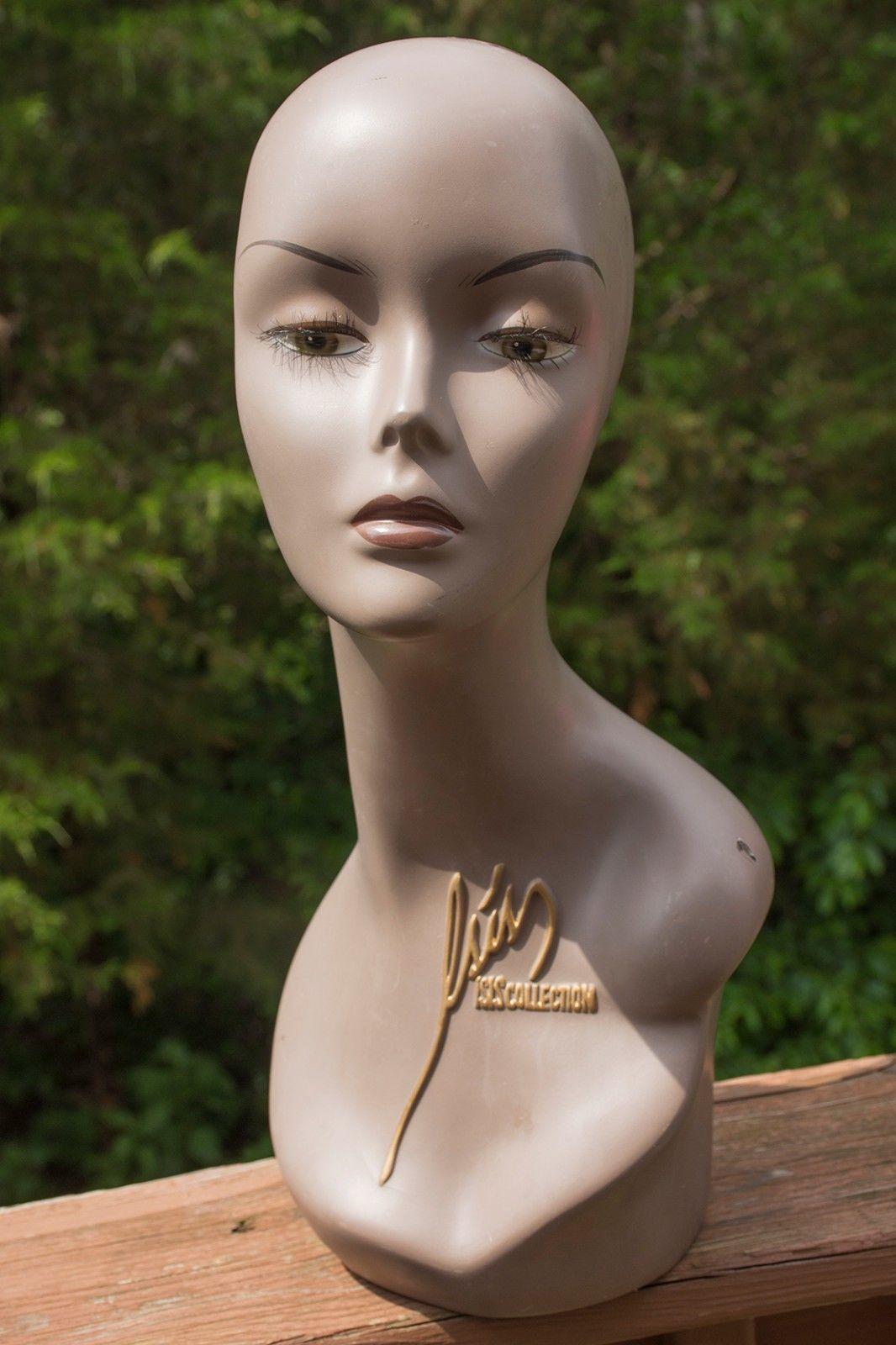 mannequin head female african