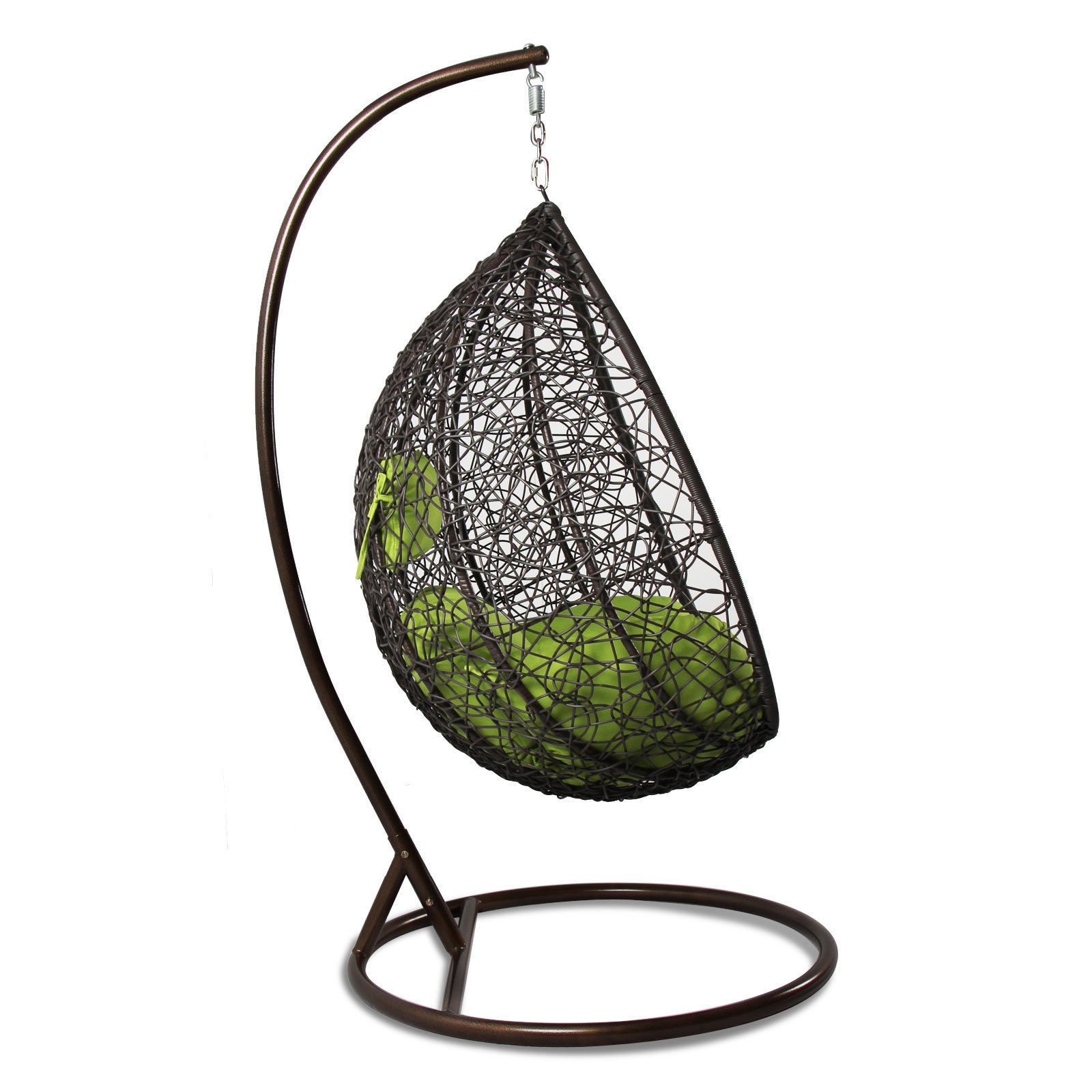 Outdoor Egg Chair Swing Hanging Hammock Proch Swing Chair Free Cover Outdoor Egg