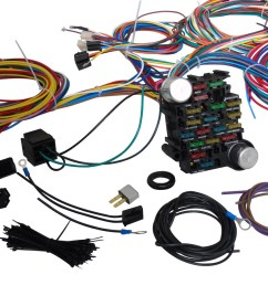 ford truck wiring harness 53 56 street rod pickup universal wire kit 1950 ford car wire [ 1600 x 900 Pixel ]