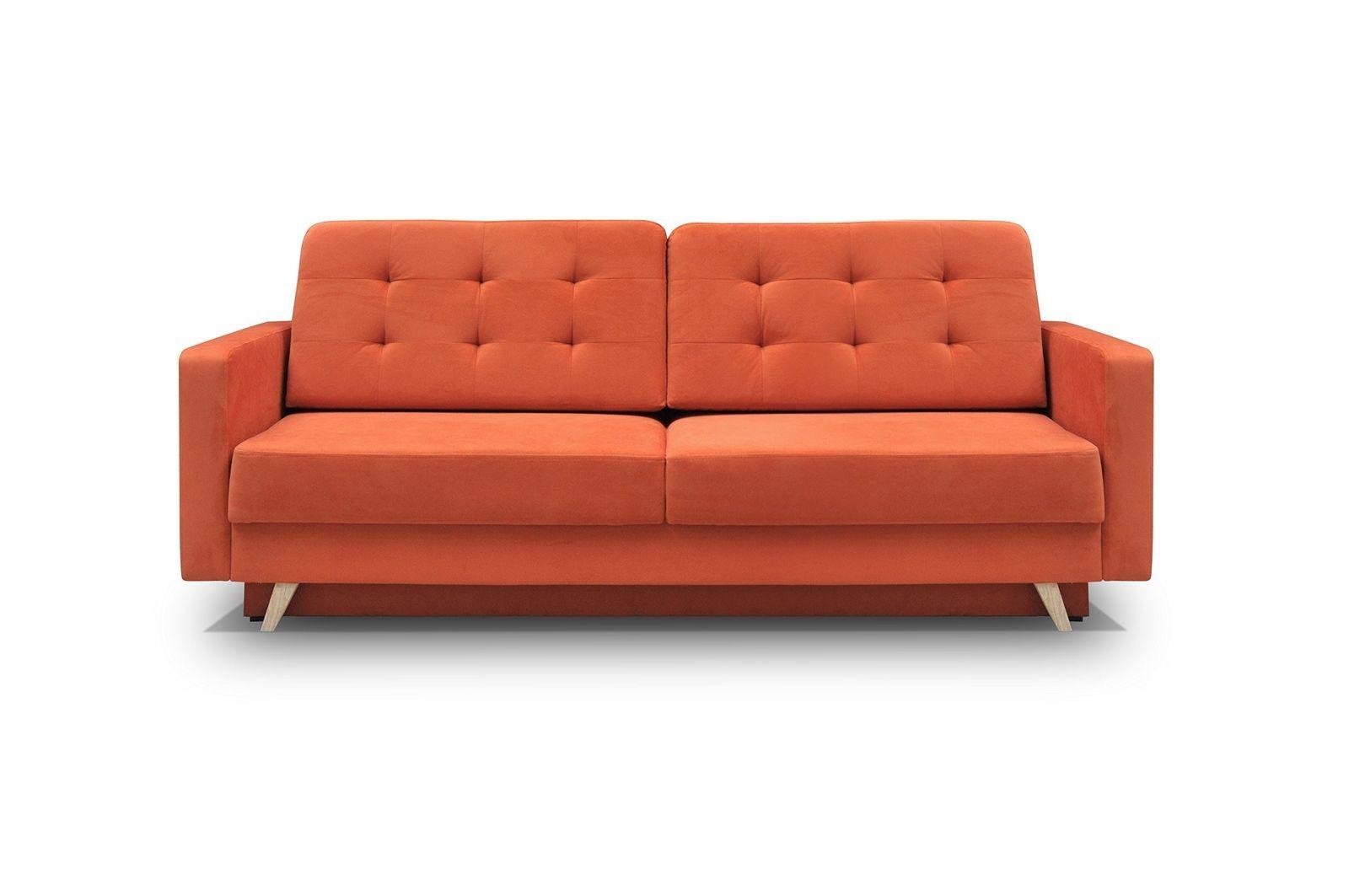 vegas futon sectional sofa bed queen sleeper with storage sandhill 7 piece outdoor set seats orange