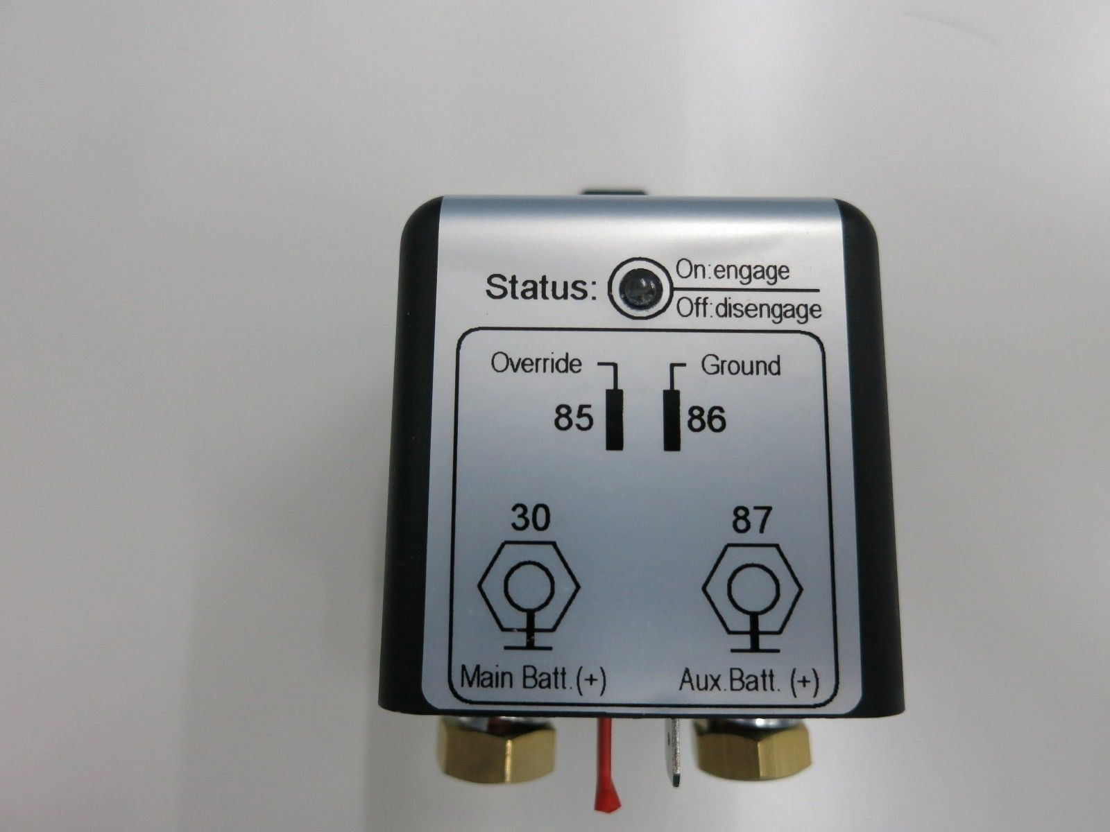 hight resolution of dual battery isolator 12v 180a single sense