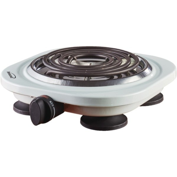 Brentwood Appliances Ts-321w 1 000-watt Single Electric Burner White - Burners & Hot Plates