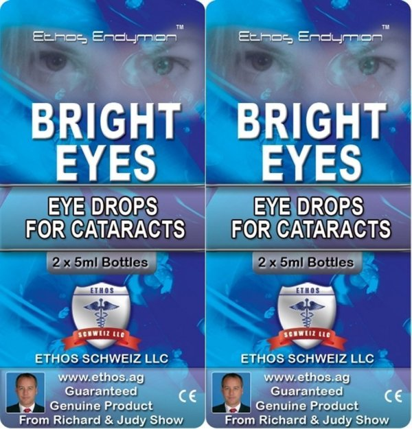 Cataract Treatment Eye Drops