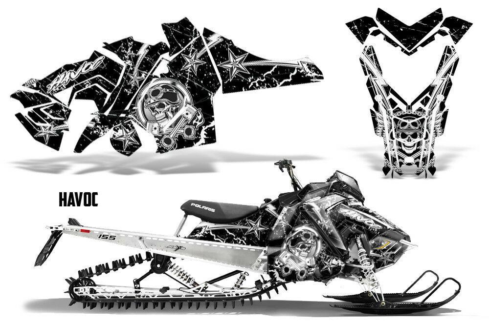 Polaris SKS Pro RMK Sled Decal Wrap Snowmobile Graphics