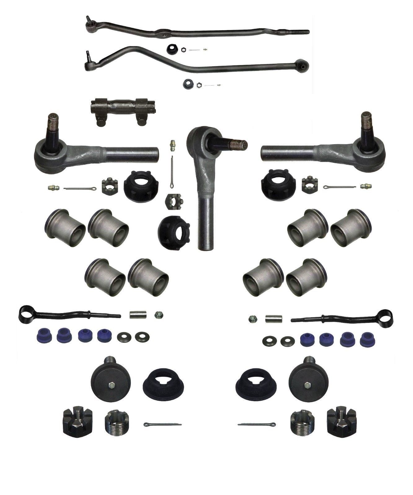 Jeep Cherokee 14 Piece Tie Rod Drag Link Ball Joint Kit