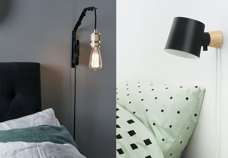Smukke Vaeglamper Til Sovevaerelset Bobedre Dk