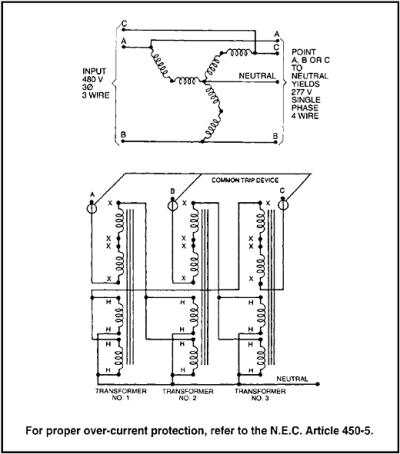 three phase wiring diagrams for transformers dodge trailer diagram 7 pin 3 6 transformer electrical characteristics engineering360 auto zig zag grounding single