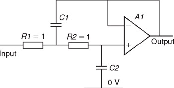 Appendix B: Capacitor Coefficients for Lowpass Sallen-Key