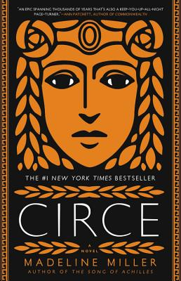 US cover of Circe, by Madeline Miller