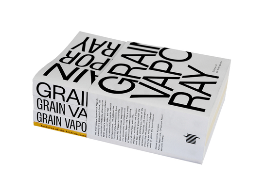 Textures of the Anthropocene, 4-Vol. Set: Grain Vapor Ray
