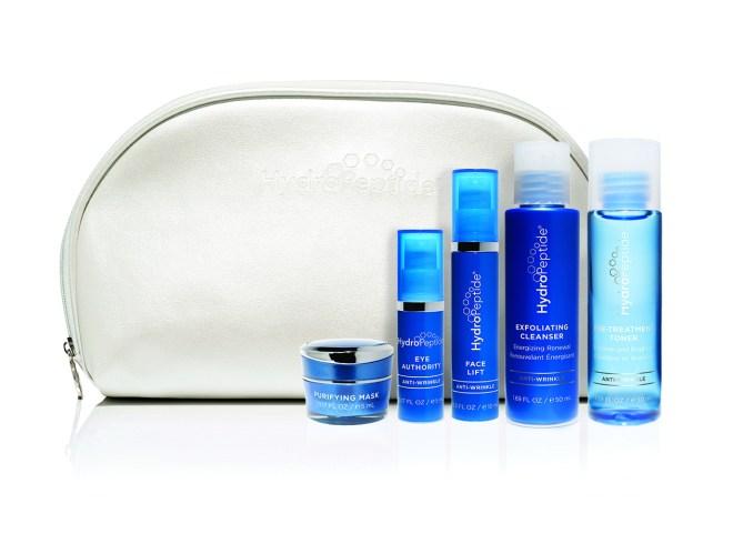 hydropeptide, on the glow, beauty regimen, travel size