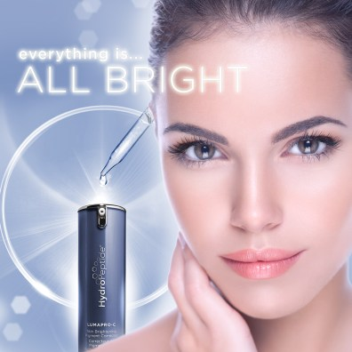 hydropeptide, lumapro-c, anti aging, age spots, fine lines, wrinkles