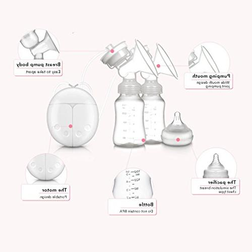 Baabyoo Baby Breastfeeding Breast Pumps Double Electric Ba