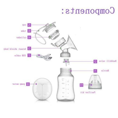 Electric Breast Pump Baby Infant Feeding Automatic Dual