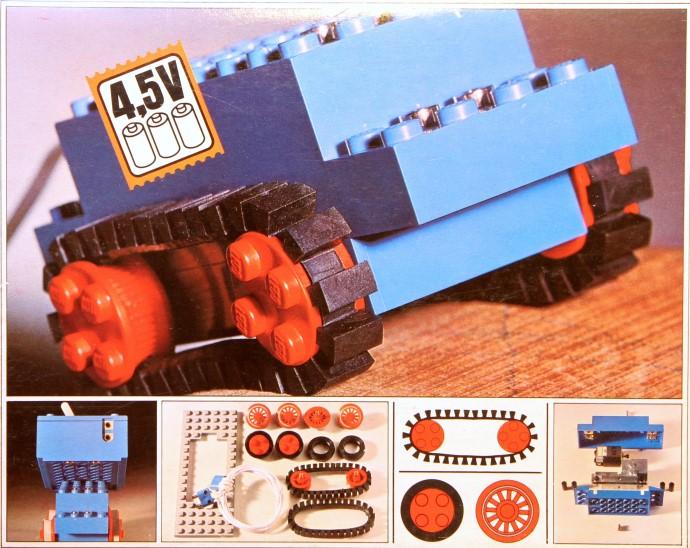 1031 45V Motor Set with Rubber Tracks  Brickset LEGO