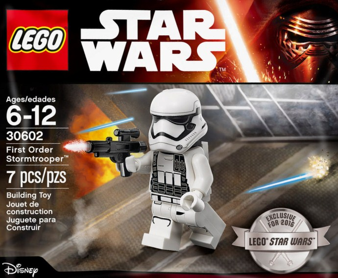Discuss the First Order Stormtrooper polybag in the 2016 Pictures and Rumors thread, on Eurobricks