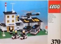370-1: Police Headquarters | Brickset: LEGO set guide and ...