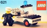 621-1: Police Car | Brickset: LEGO set guide and database