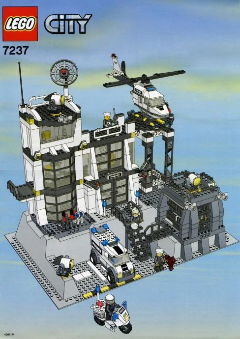 7237 1 Police Station Brickset LEGO Set Guide And Database