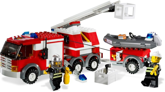 7239 1 Fire Truck Brickset LEGO Set Guide And Database