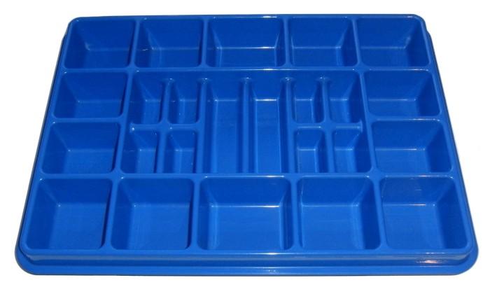758 1 Storage Tray Blue Brickset LEGO Set Guide And