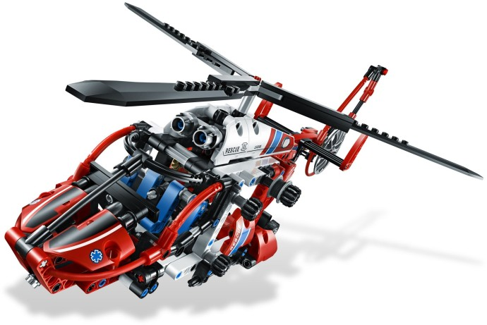 8068 1 Rescue Helicopter Brickset LEGO Set Guide And