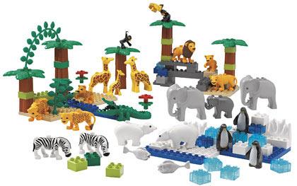 9214 1 Wild Animals Set Brickset LEGO Set Guide And