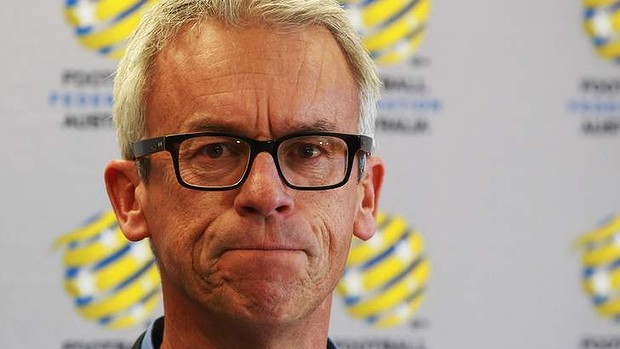 """""""There?s a romance to playing Brazil at football for any country"""": FFA CEO David Gallop."""