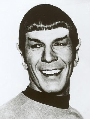 """Leonard Nimoy: """"In Spock, I finally found the best of both worlds: to be widely accepted in public approval and yet be able to continue to play the insulated alien through the Vulcan character."""""""