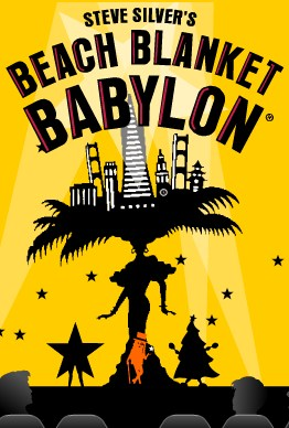 Poster beach blanket babylon