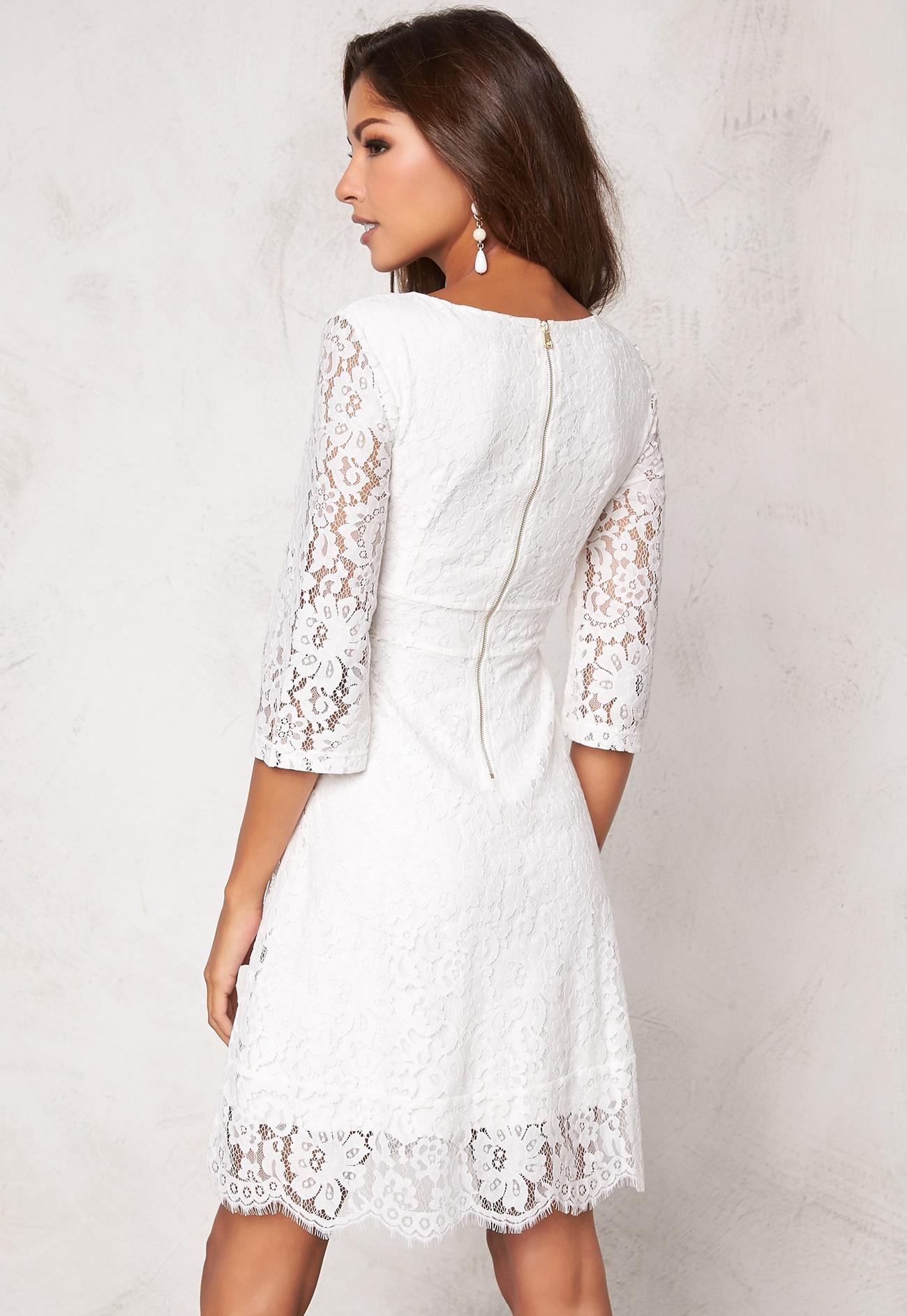 Chiara Forthi Ellix Dress  2 Winter white  Bubbleroom