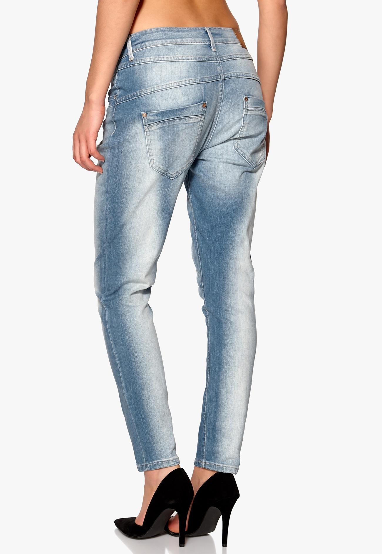 ONLY Lizzy Antifit Jeans Light Blue Denim  Bubbleroom