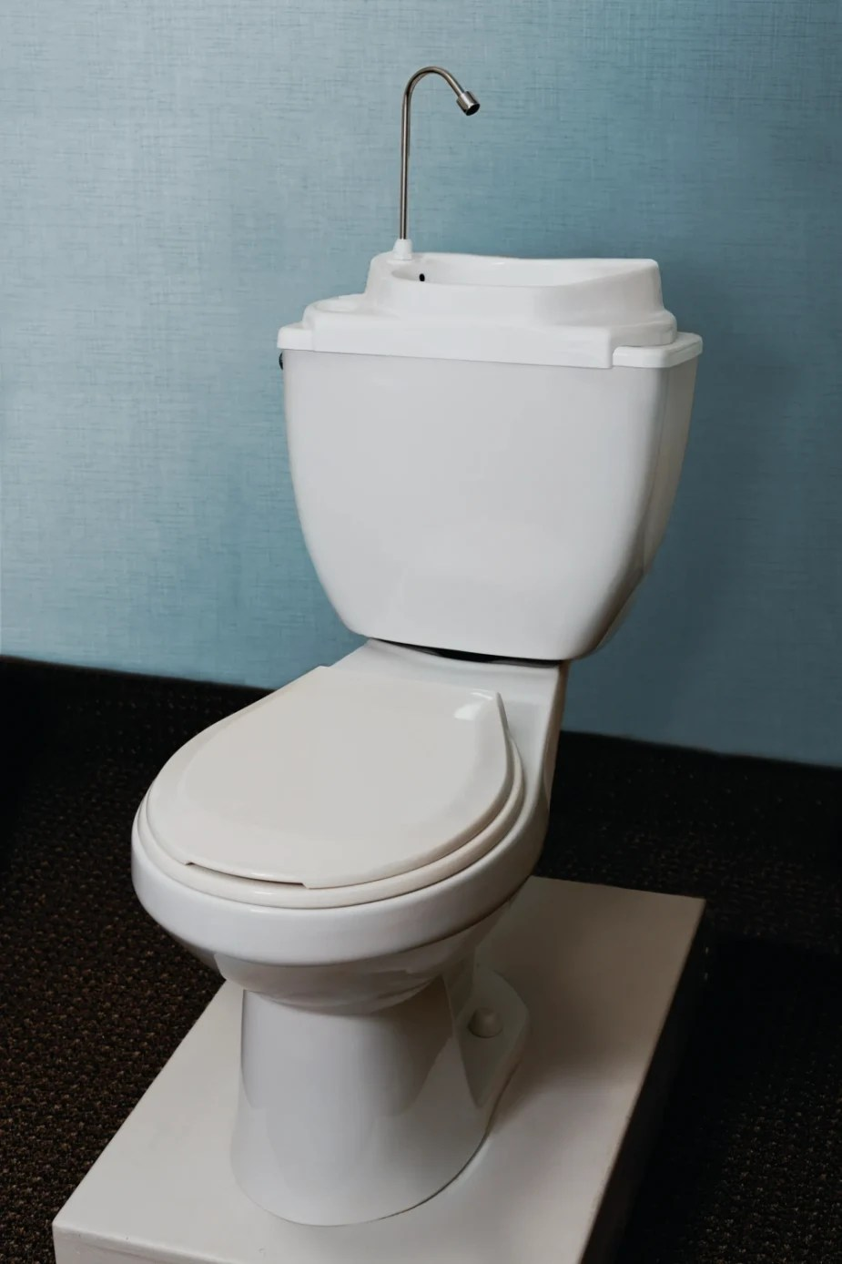 the toilet tank sink a simple way to