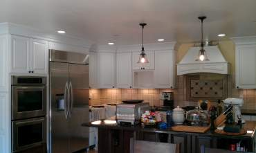 hight resolution of michael lucero dba electrical design and maintenance project 200 amp flush mounted panel kitchen remodel