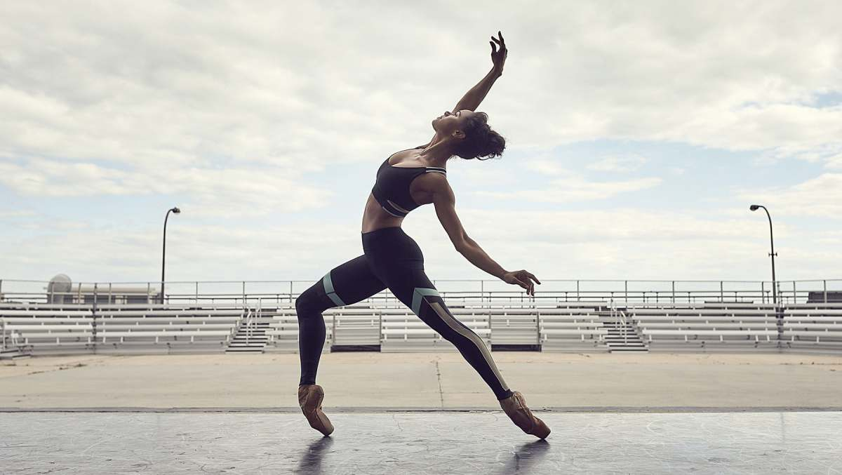 """Misty Copeland in Under Armour's campaign """"Unlike Any""""   Source: Under Armour"""
