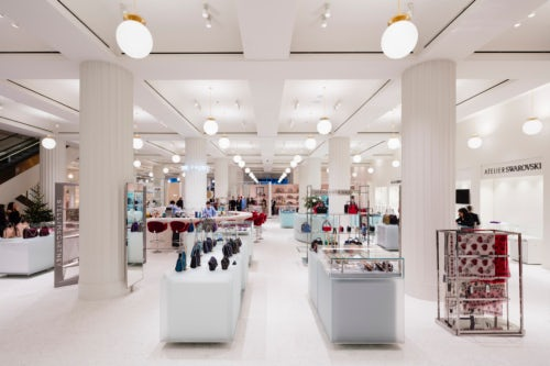 e4f3f2a674b52 The accessories hall at Selfridges in London