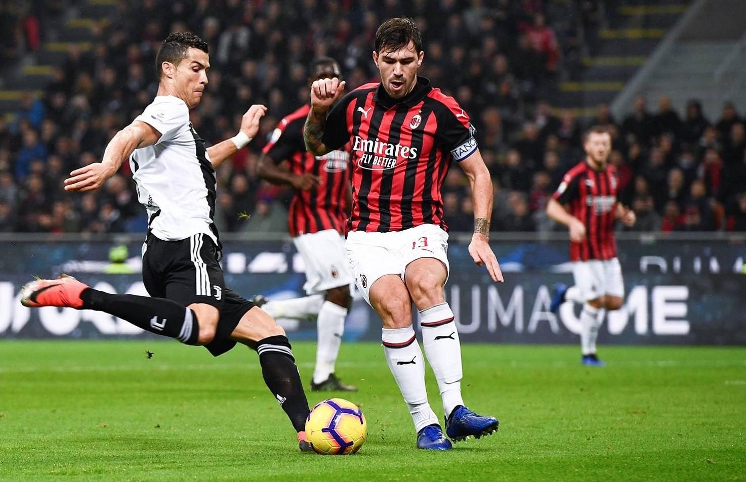 Juventus Milan streaming gratis live Vedere su siti streaming link